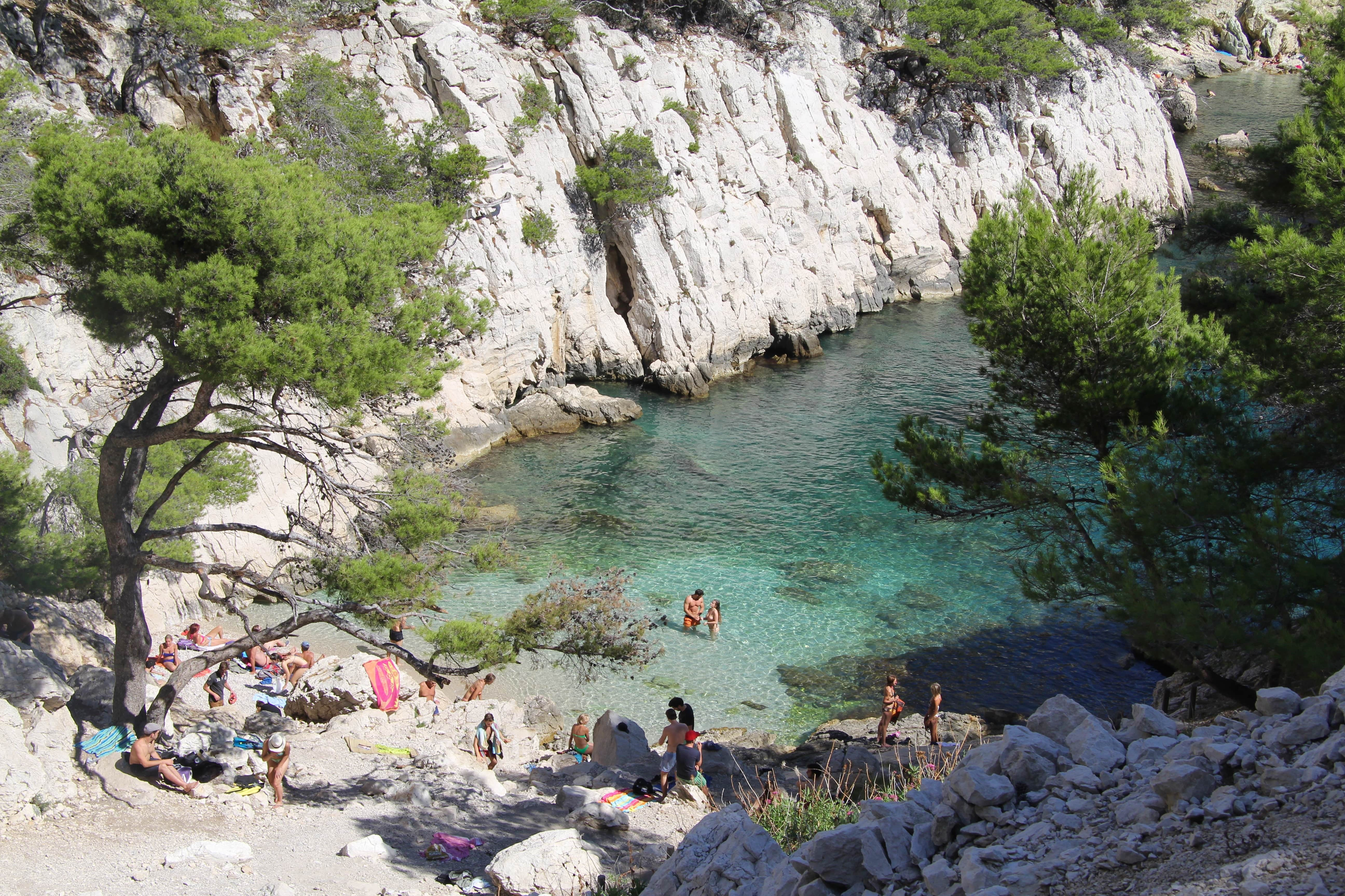 Calanques · hiking trip