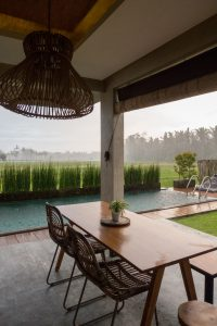 Best Airbnb Stay in Ubud surrounded by ricefields