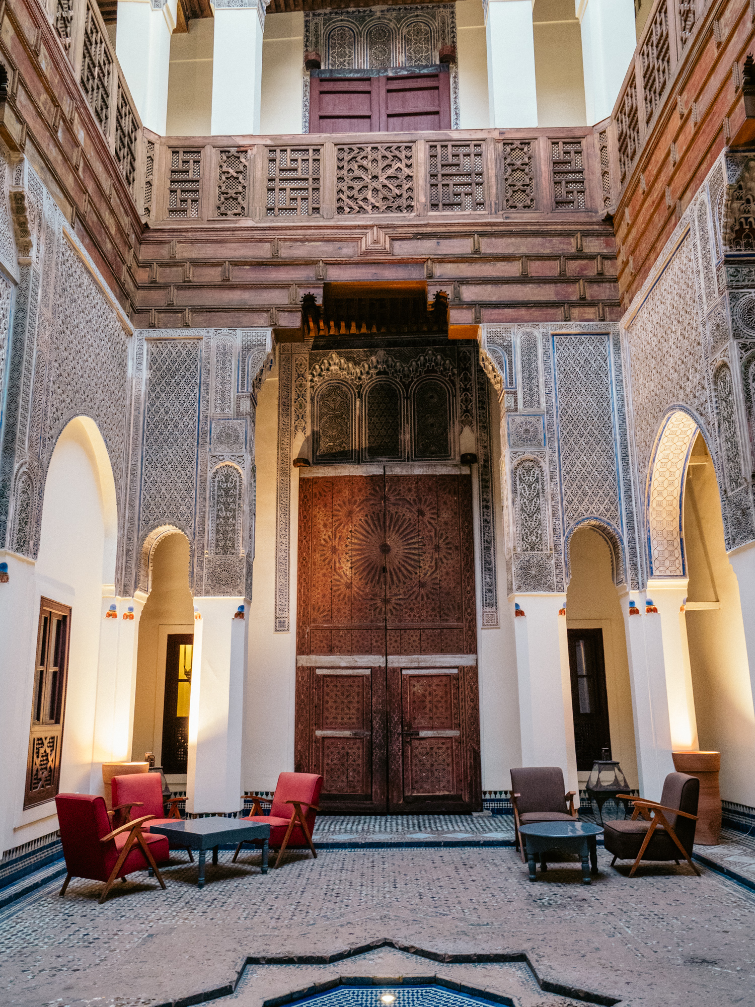 Accommodation in Fez, Dar Bensouda.