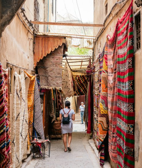 A travellers guide to exploring Fez medina.